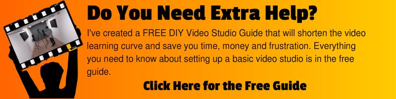 Free DIY Video Studio Guide